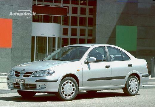 nissan almera n16 ii 1.5 comfort 2001-2002 | auto katalogas