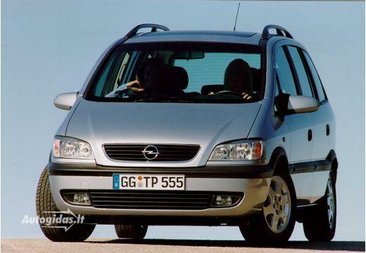 Opel Zafira 2001-2002