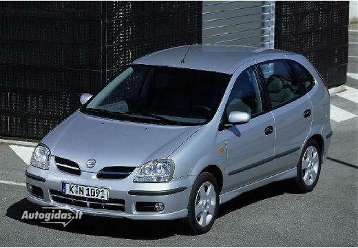 nissan almera tino 2.2 dci tekna 2003-2005 | auto katalogas