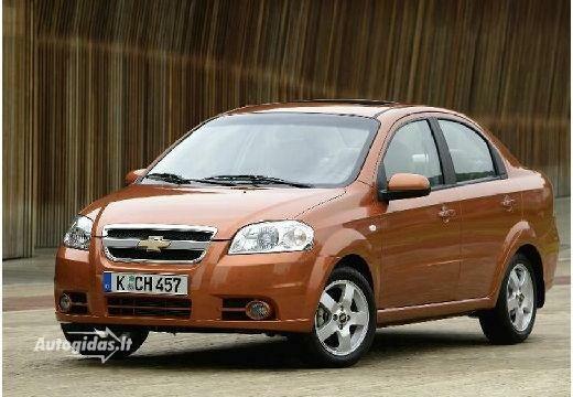 Chevrolet Aveo 2006-2009