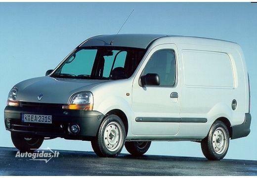 Renault Kangoo I 1 9 D Confort 2001-2003 | Autocatalog | Autogidas lt