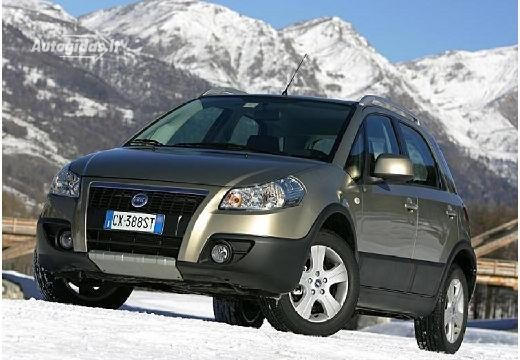 Fiat Sedici 2007-2008