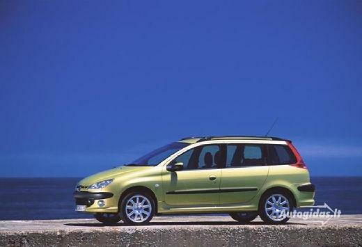 Peugeot 206 2002-2003