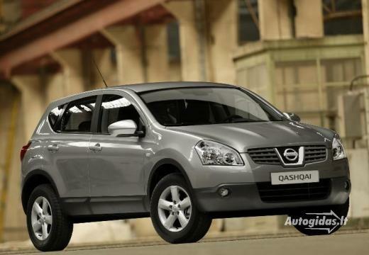 Nissan Qashqai 2007-2008