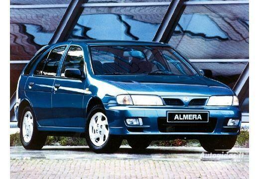 nissan almera n15 1.4 gx 1995-1998 | auto katalogas | autogidas.lt