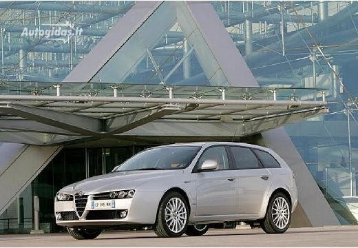 Alfa Romeo 159 2006-2007
