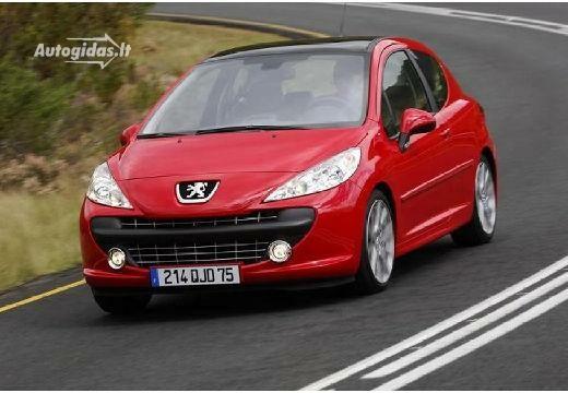 Peugeot 207 2006-2007