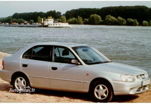 Hyundai Accent 2001-2002
