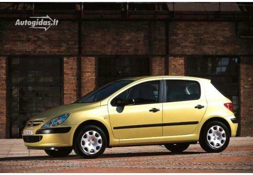Peugeot 307 2001-2002