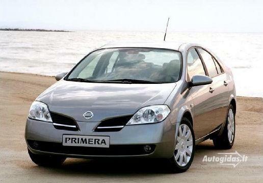 Nissan Primera 2006-2008