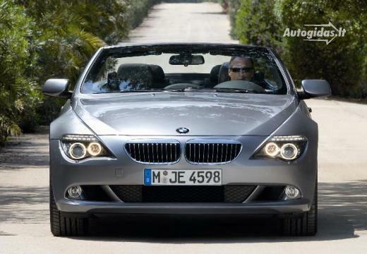 BMW 635 2007-2010