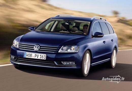 Volkswagen Passat 2010-2013