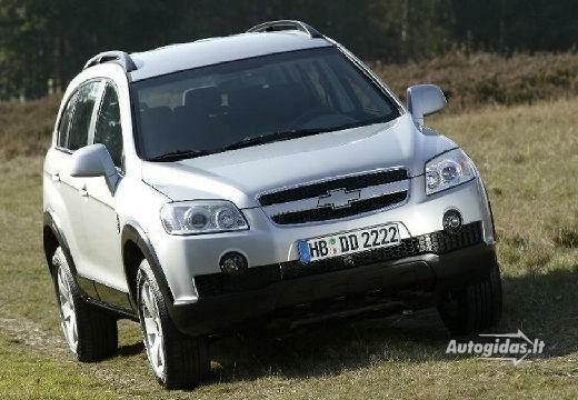 Chevrolet Captiva 2010-2011