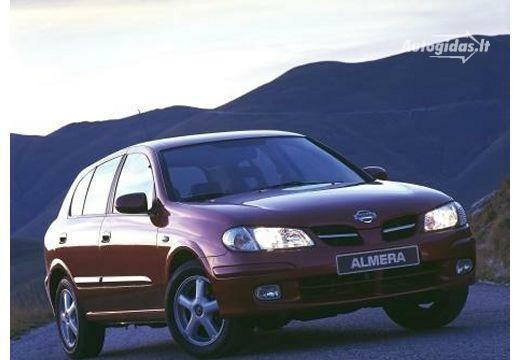 Nissan Almera 2000-2002