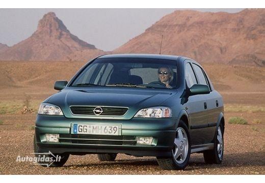Opel Astra 2002-2004