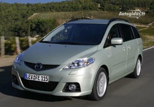 Mazda 5 2008-2009