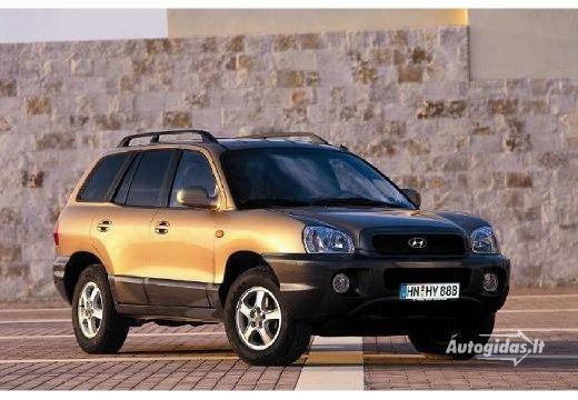 Hyundai Santa Fe 2001-2003