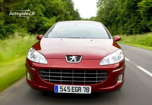 Peugeot 407 2008-2010
