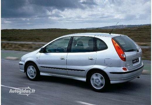 nissan almera tino 1.8 2000-2003 | auto katalogas | autogidas.lt
