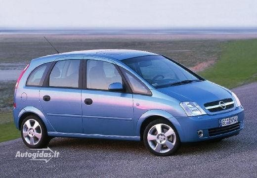Opel Meriva 2006-2007