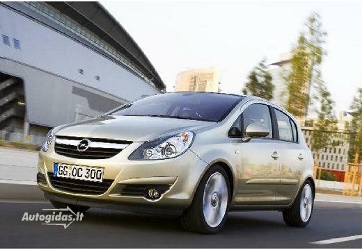 Opel Corsa 2007-2011