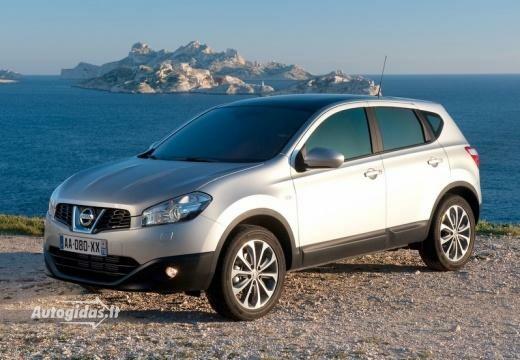 Nissan Qashqai 2010-2014