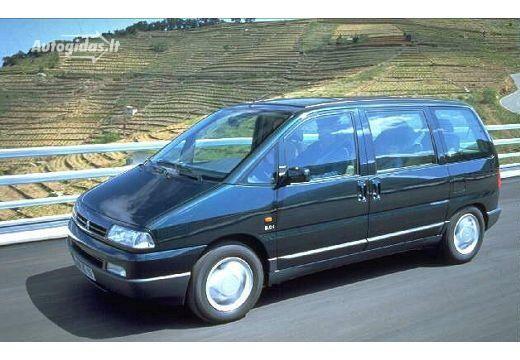 Citroen Evasion 1996-1998