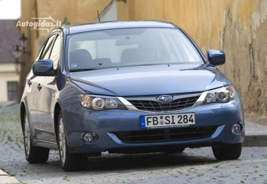 Subaru Impreza 2007-2011