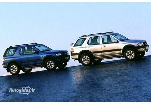 Opel Frontera 2002-2004