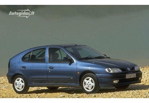 Wonderbaar Renault Megane I 1.6 RT Aut. 1996-1998 | Autocatalog | Autogidas.lt IR-55