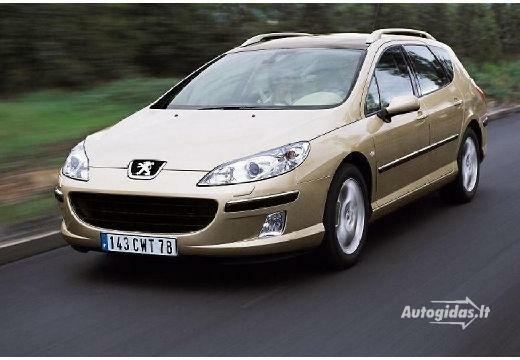 Peugeot 407 2004-2006