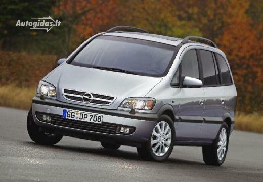 Opel Zafira 2002-2005