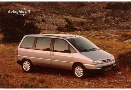 Citroen Evasion 2000-2002