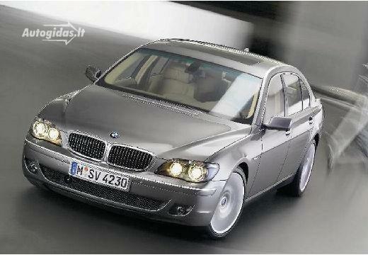 BMW 745 2006-2008