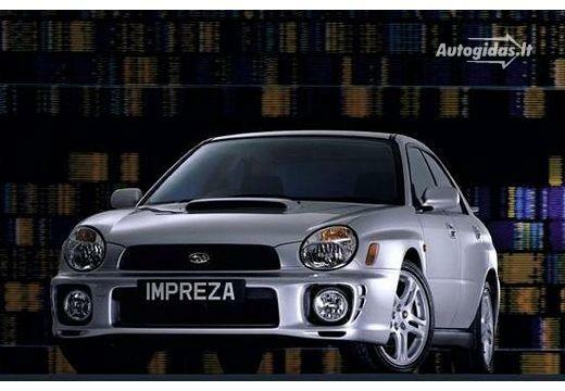 Subaru Impreza 2000-2002