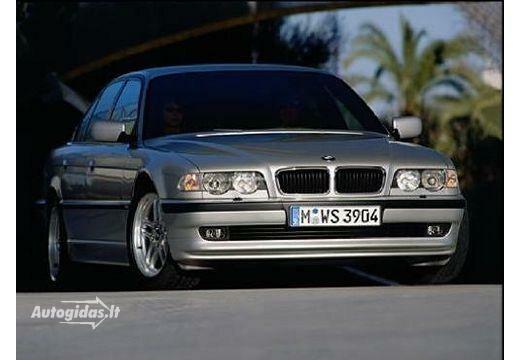 BMW 740 1999-2001