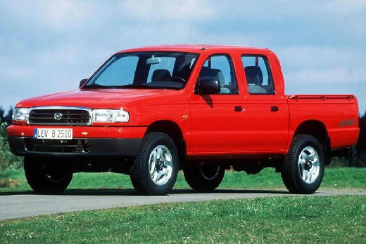 Mazda b-seria 1999-2002