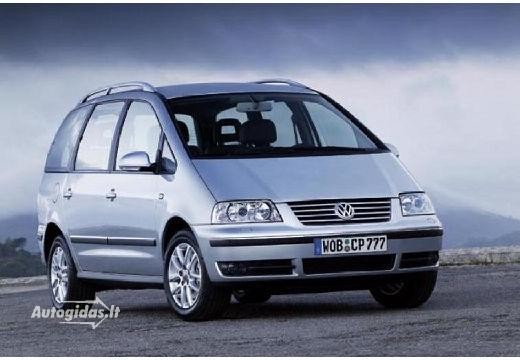 Volkswagen Sharan 2003-2009