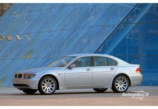 BMW 745 2001-2005