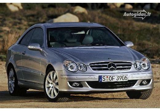 Mercedes-Benz CLK 500 2005-2006