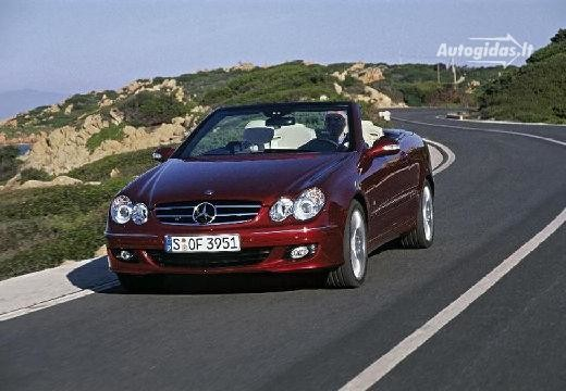 Mercedes-Benz CLK 500 2005-2006