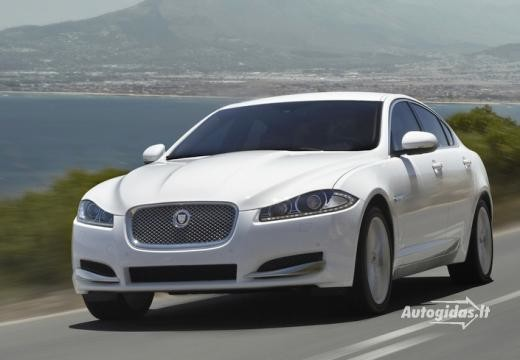 Jaguar XF 2011-2012