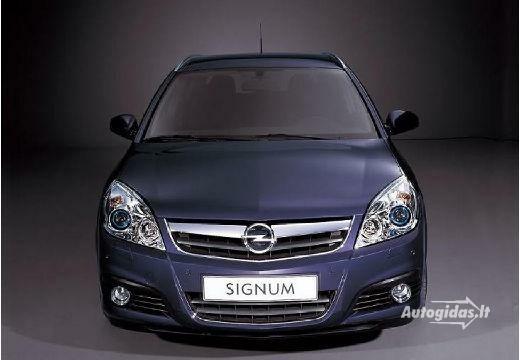 Opel Signum 2007-2008