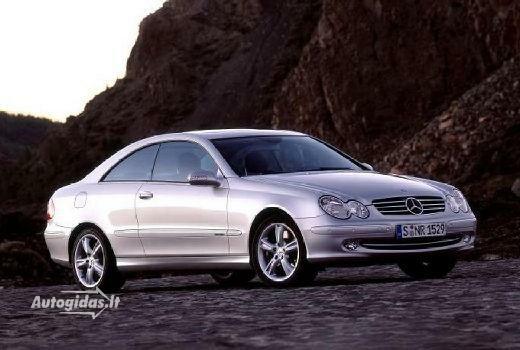 Mercedes-Benz CLK 500 2002-2005
