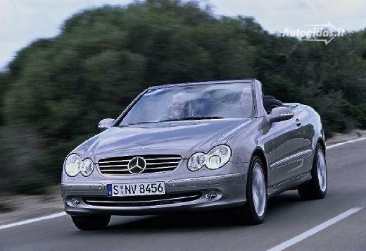 Mercedes-Benz CLK 500 2003-2005