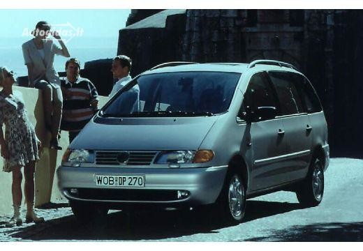 Volkswagen Sharan 1997-2000