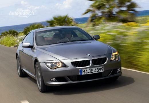 BMW 650 2007-2010
