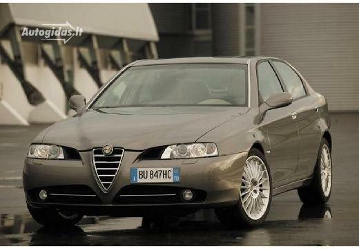 Alfa-Romeo 166 2004-2006