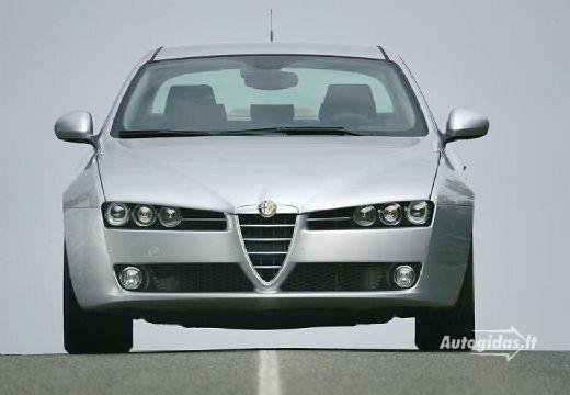 Alfa Romeo 159 2007-2008
