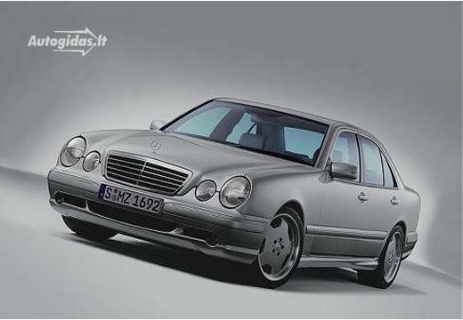 Mercedes-Benz E 55 AMG 1999-2002